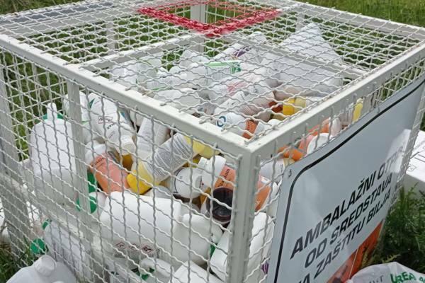 Bezbedno zbrinjavanje ambalažnog otpada od sredstava za zaštitu bilja
